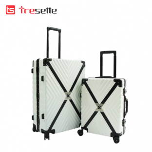 Vali khóa sập Tresette TSL – 605526 (White) 26 inch