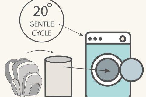 Hướng dẫn cách vệ sinh balo dễ dàng bằng máy giặt
