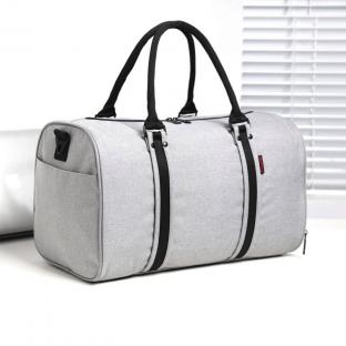 Túi du lịch – túi trống PCN – 6568 Grey