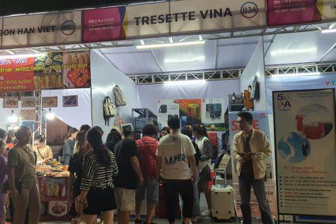 Tresette tham gia lễ hội ẩm thực Hàn Quốc
